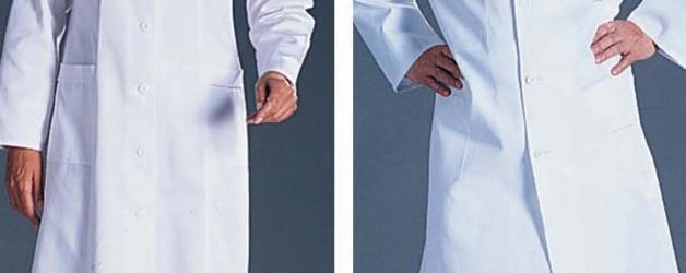 Fartuch biały lekarski