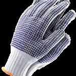 Rękawice obustronnie nakrapiane