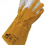 Rękawice skórzane - długie