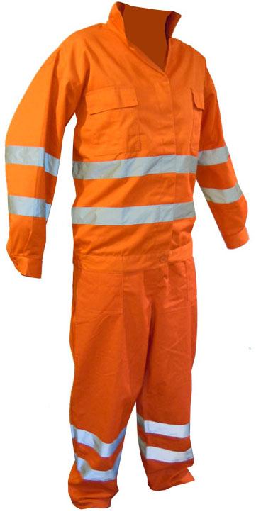 Ubranie robocze ostrzegawcze z elementami odblasowymi - letnie i zimowe